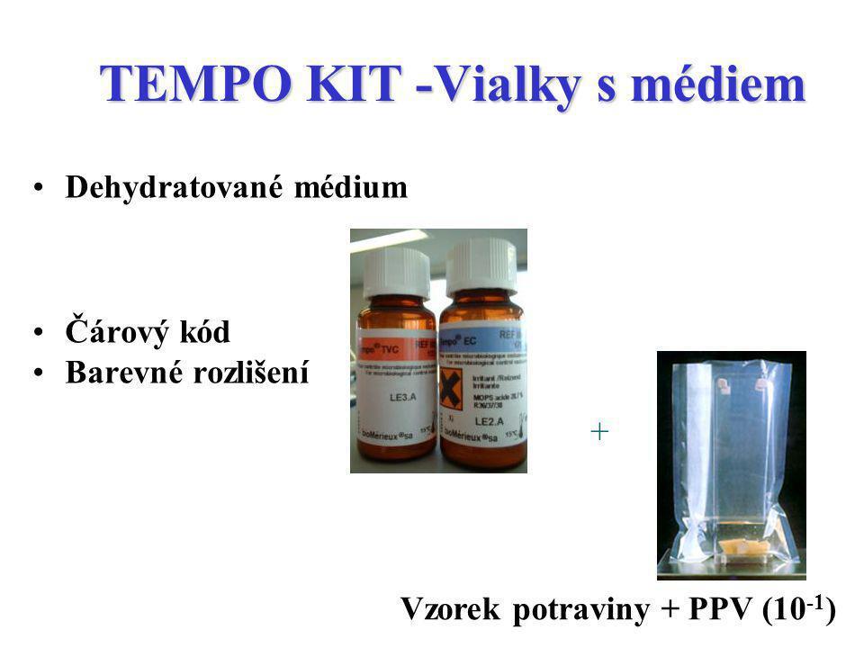 TEMPO KIT -Vialky s médiem