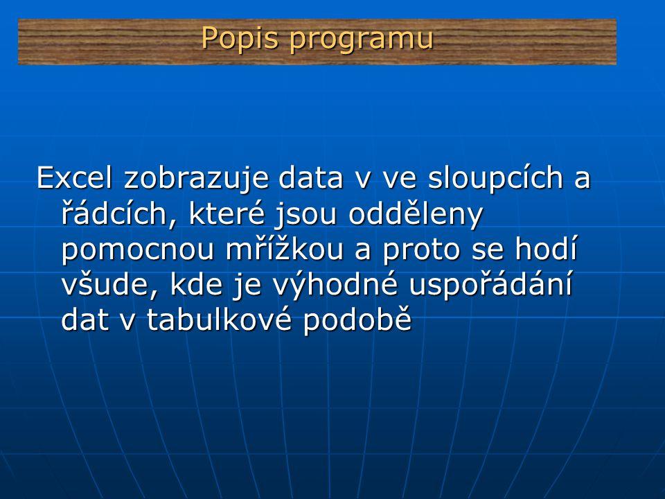 Popis programu