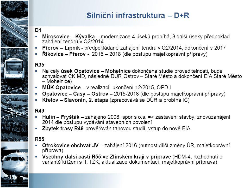 Silniční infrastruktura – D+R