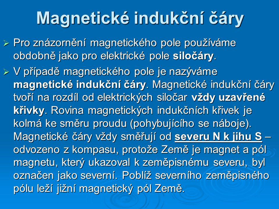 Magnetické indukční čáry