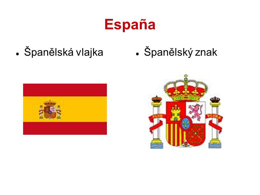España Španělská vlajka Španělský znak 2