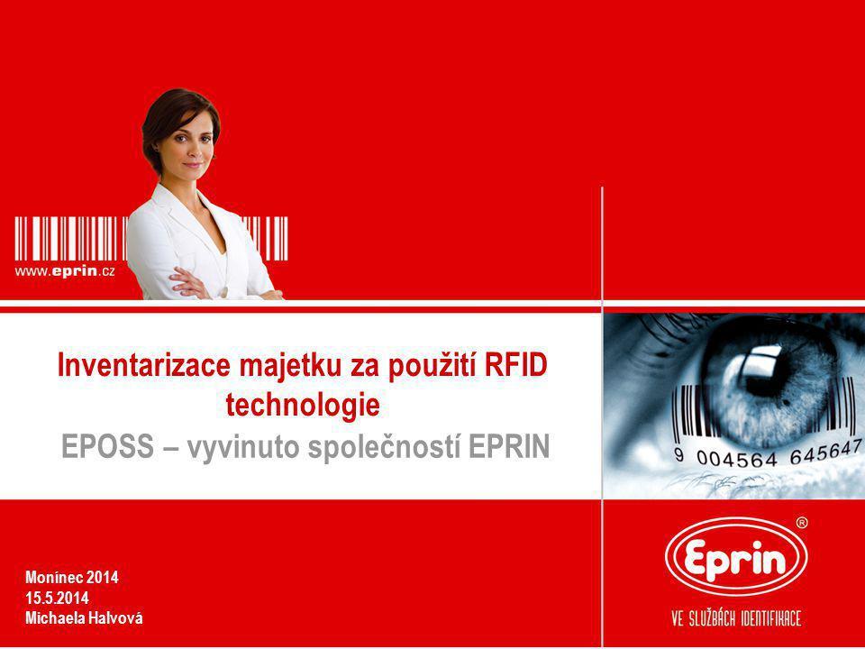 Inventarizace majetku za použití RFID technologie