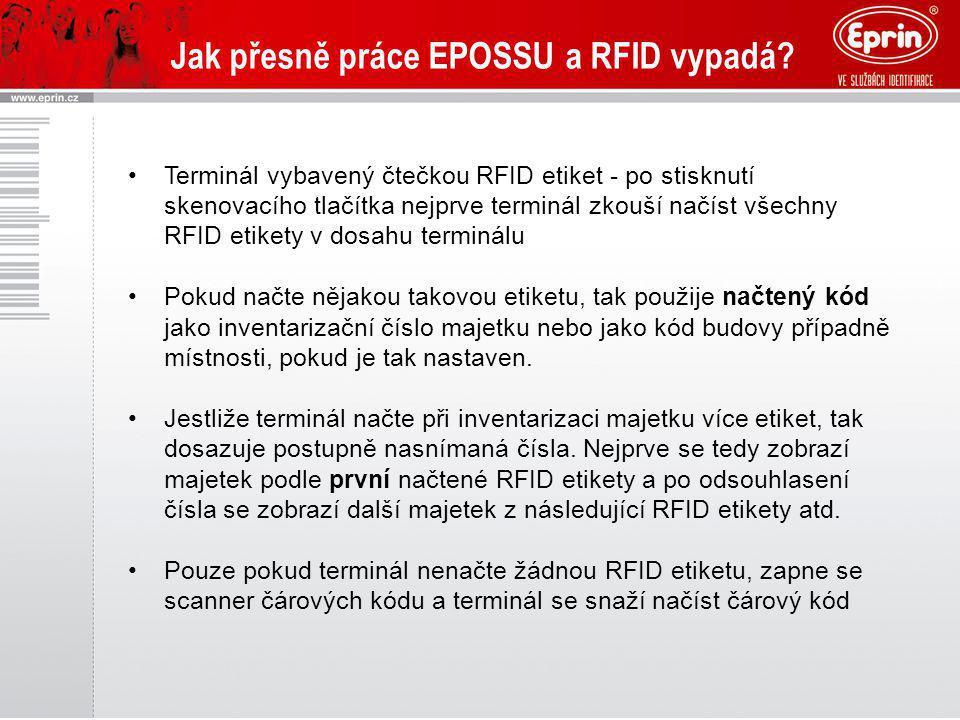 Jak přesně práce EPOSSU a RFID vypadá