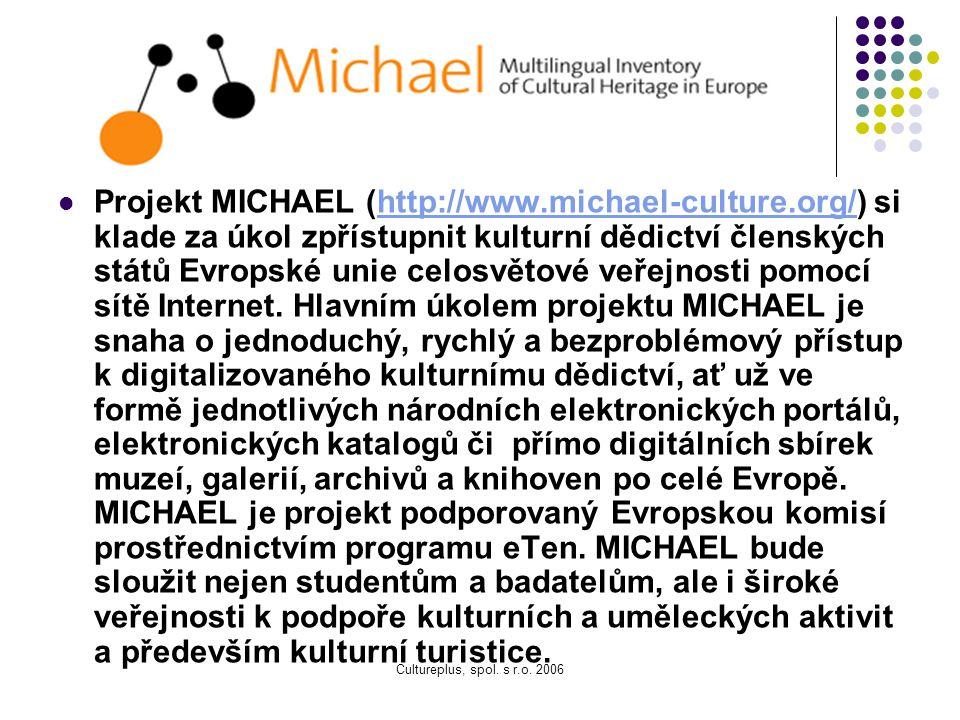 Projekt MICHAEL (http://www. michael-culture