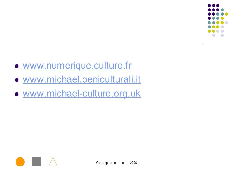 www.numerique.culture.fr www.michael.beniculturali.it