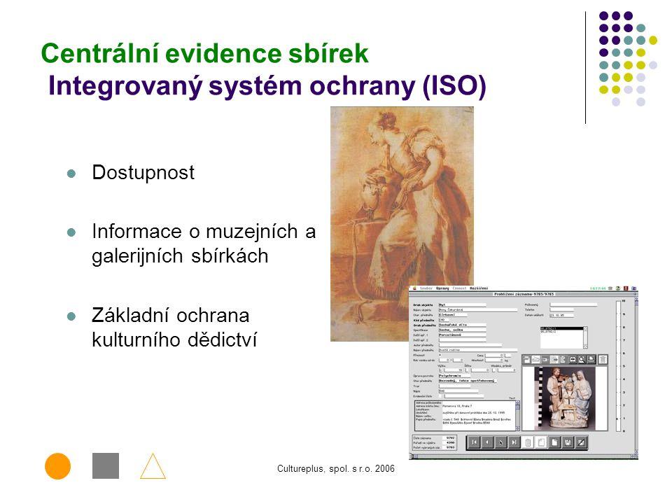 Centrální evidence sbírek Integrovaný systém ochrany (ISO)