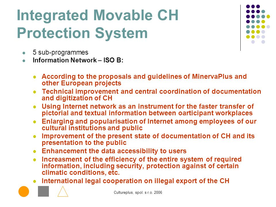 Integrated Movable CH Protection System