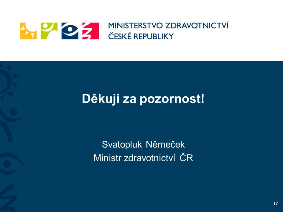 Ministr zdravotnictví ČR
