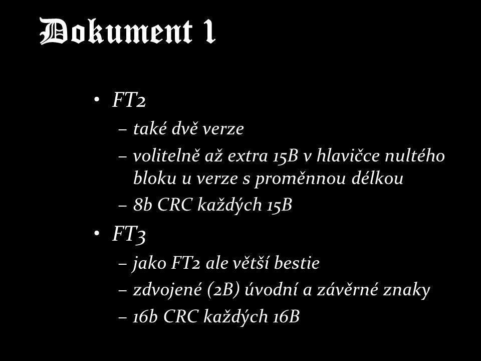 Dokument 1 FT2 FT3 také dvě verze