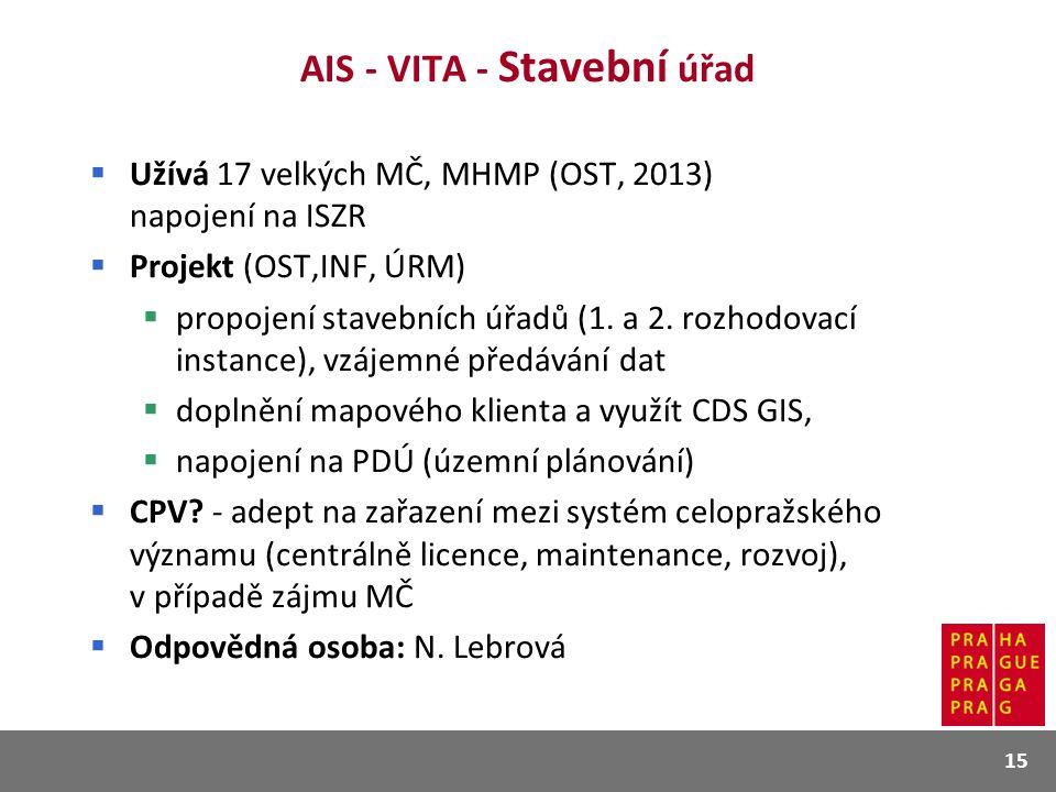 AIS - VITA - Stavební úřad