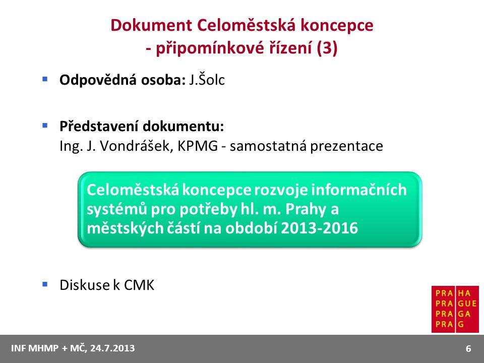 Dokument Celoměstská koncepce - připomínkové řízení (3)