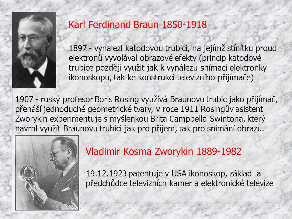 Vladimir Kosma Zworykin 1889-1982