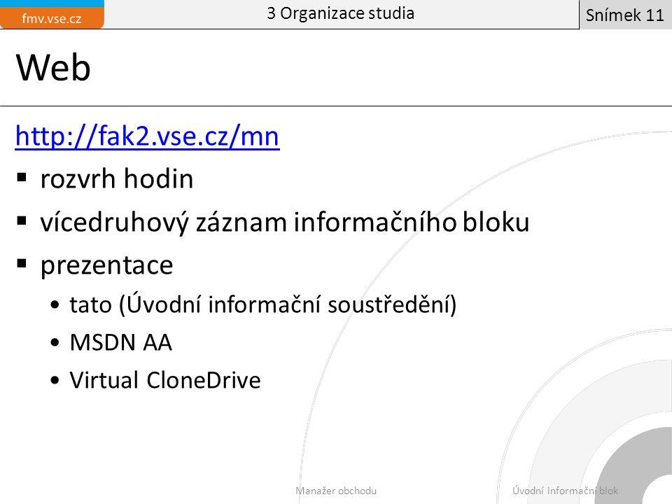Úvodní informační blok