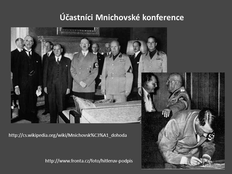 Účastníci Mnichovské konference