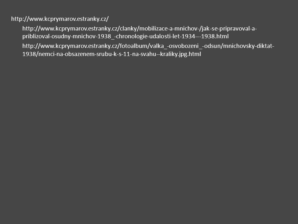 http://www.kcprymarov.estranky.cz/