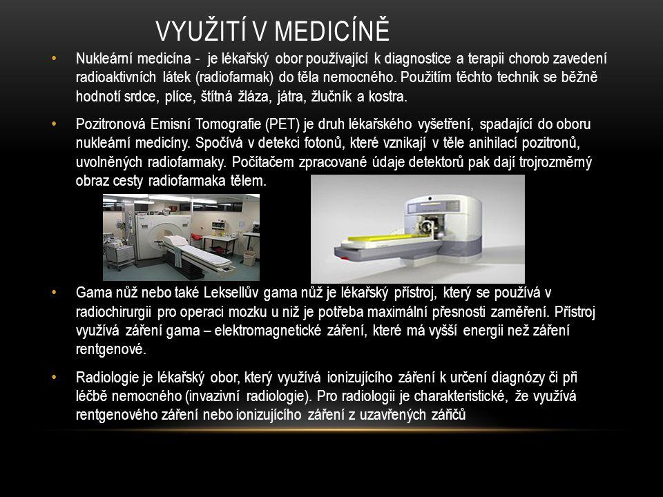 Využití v medicíně