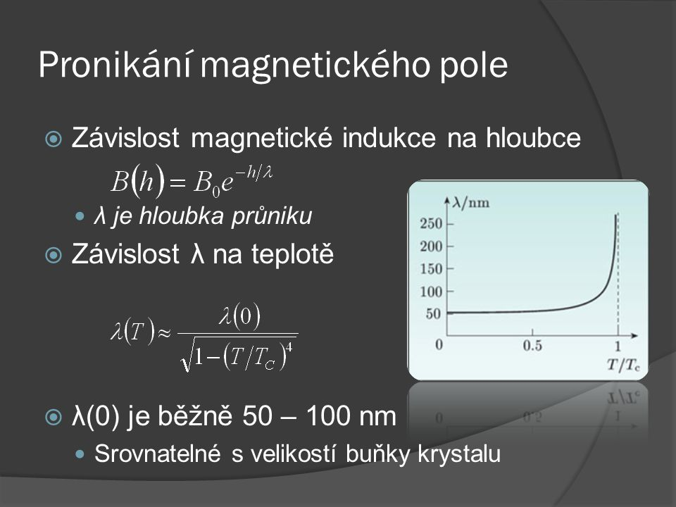 Pronikání magnetického pole