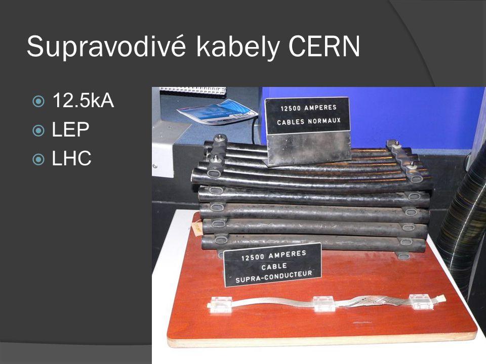 Supravodivé kabely CERN