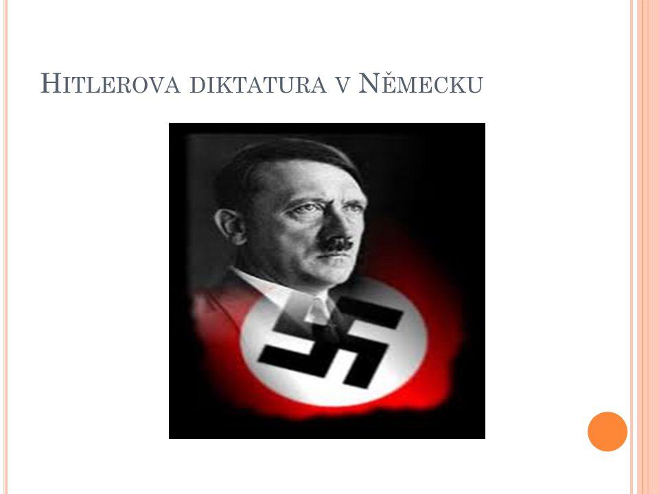 Hitlerova diktatura v Německu