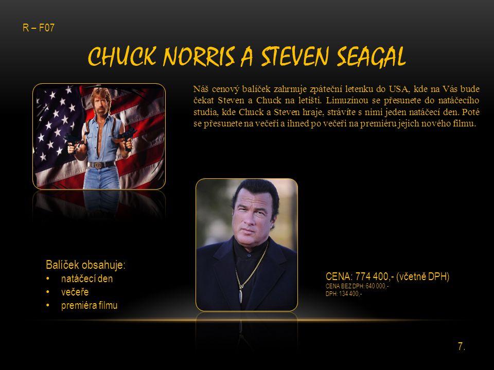 Chuck norris a steven seagal