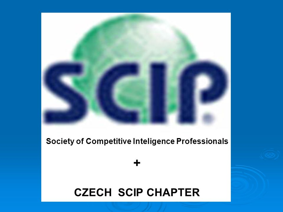 Society of Competitive Inteligence Professionals