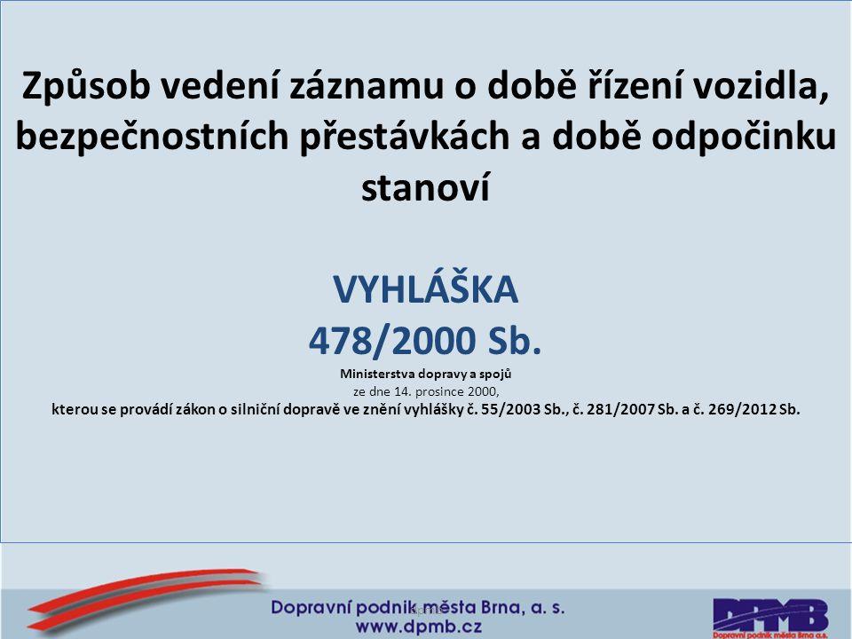 Ministerstva dopravy a spojů
