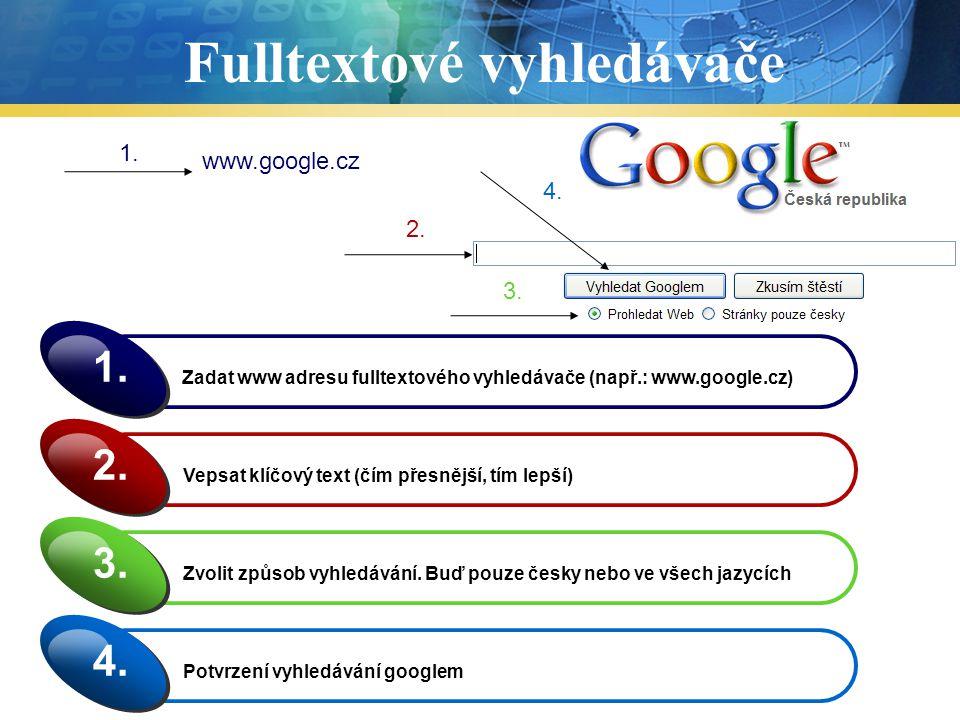 Fulltextové vyhledávače