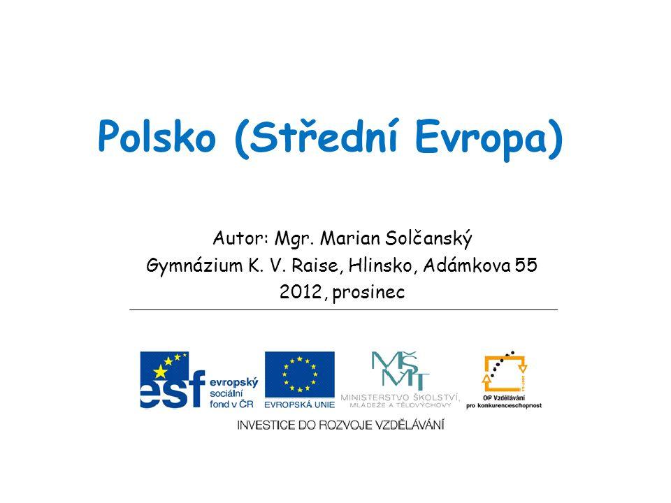 Polsko (Střední Evropa)