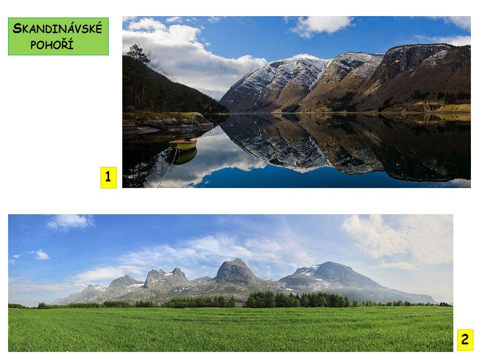 Skandinávské pohoří 1 2