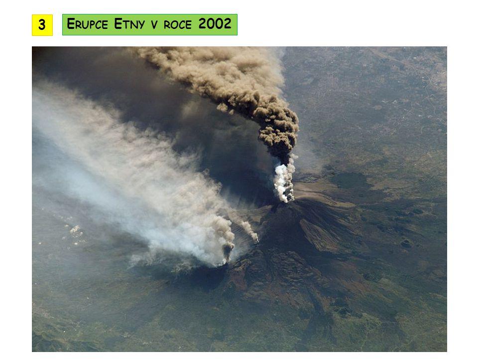 3 Erupce Etny v roce 2002