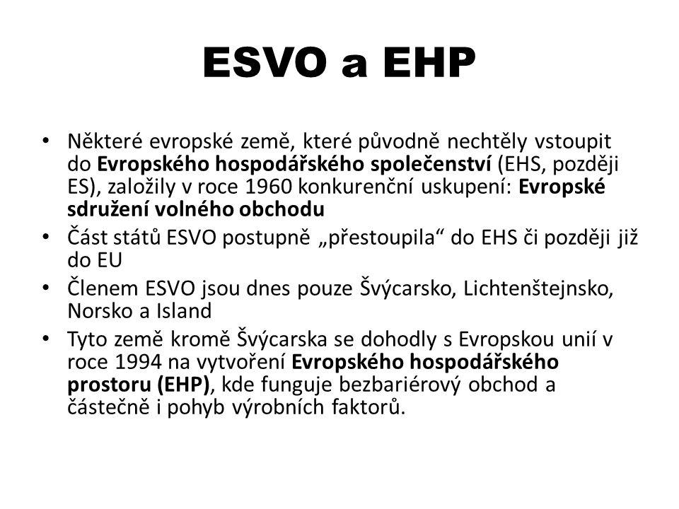 ESVO a EHP