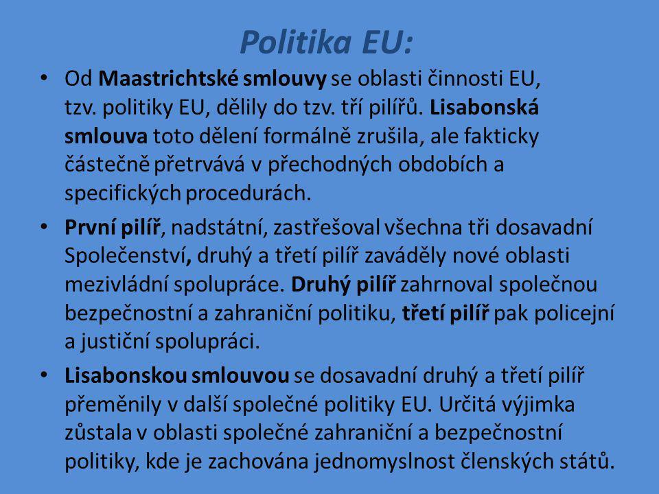 Politika EU: