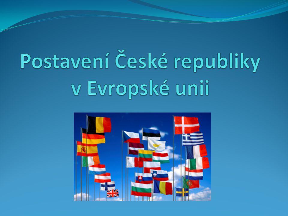 Postavení České republiky v Evropské unii