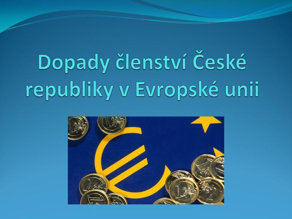 Dopady členství České republiky v Evropské unii