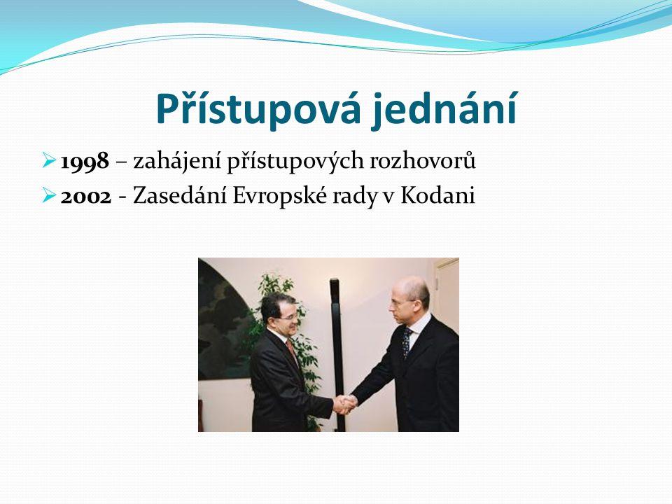 Přístupová jednání 1998 – zahájení přístupových rozhovorů