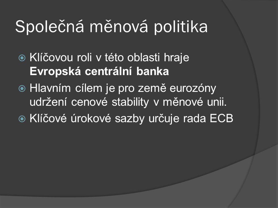 Společná měnová politika