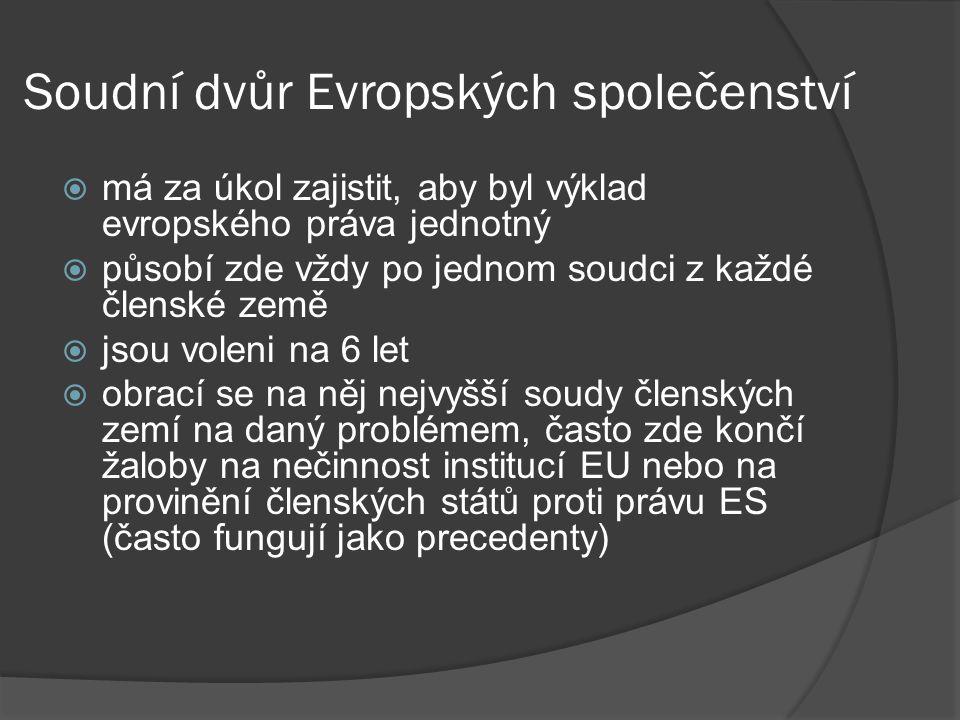 Soudní dvůr Evropských společenství
