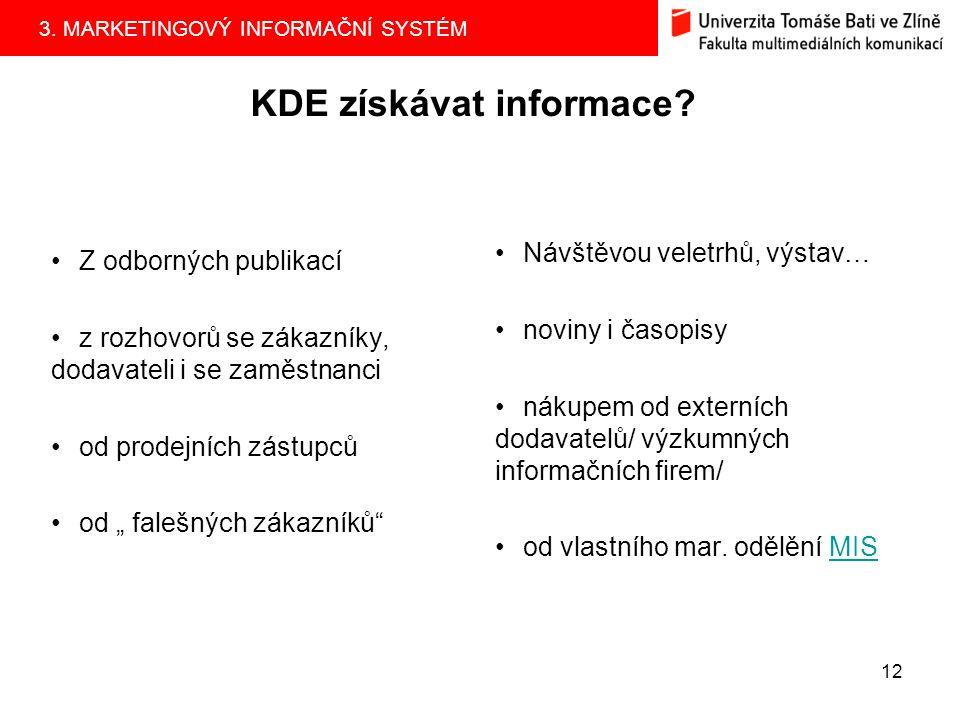KDE získávat informace