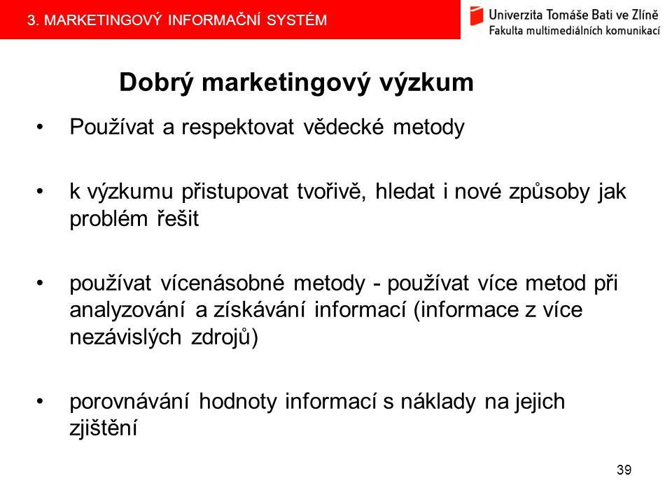 Dobrý marketingový výzkum
