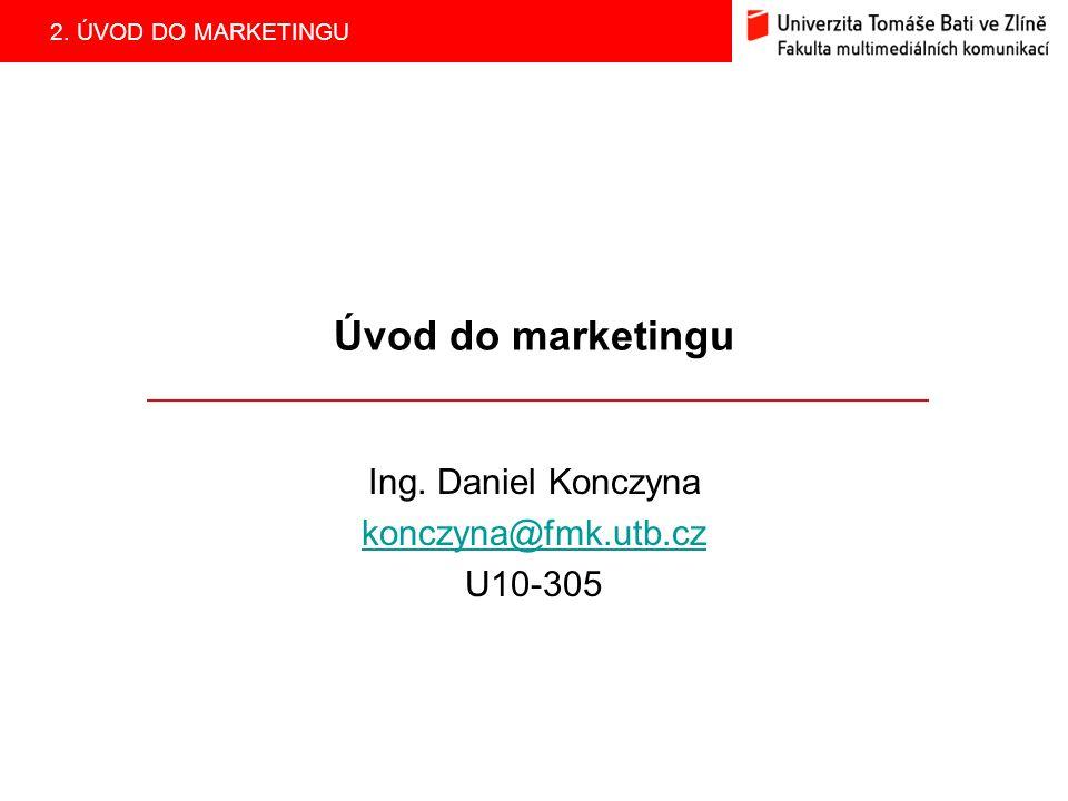 Ing. Daniel Konczyna konczyna@fmk.utb.cz U10-305