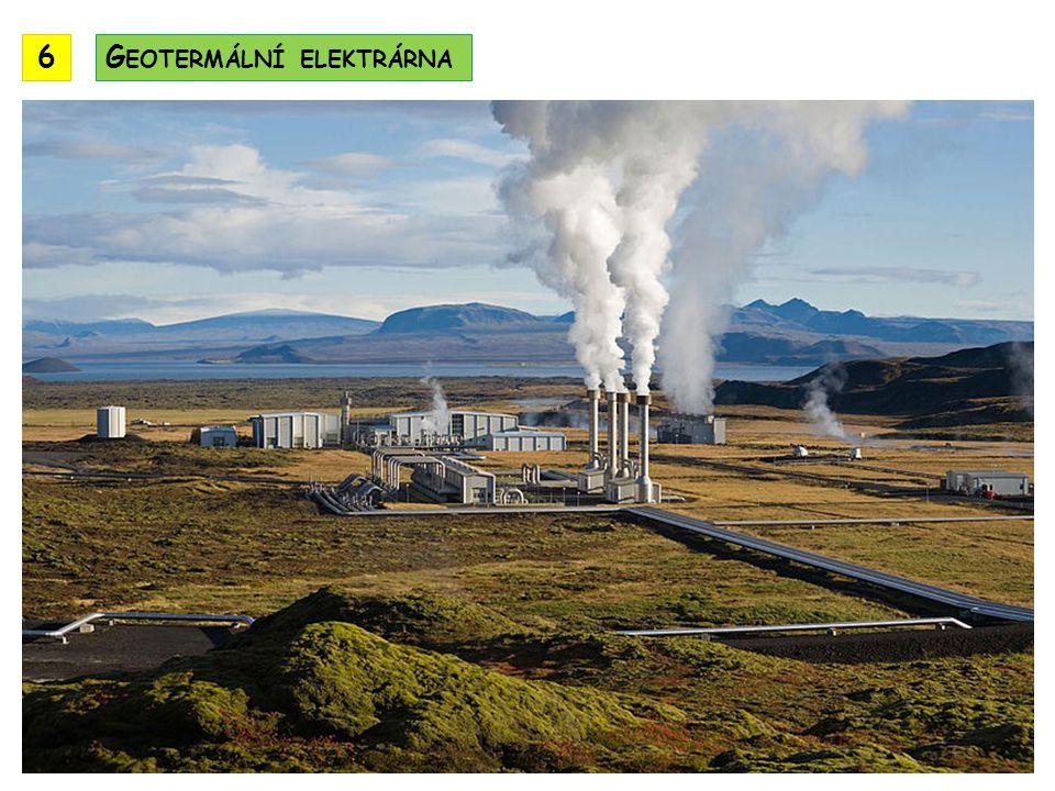 6 Geotermální elektrárna