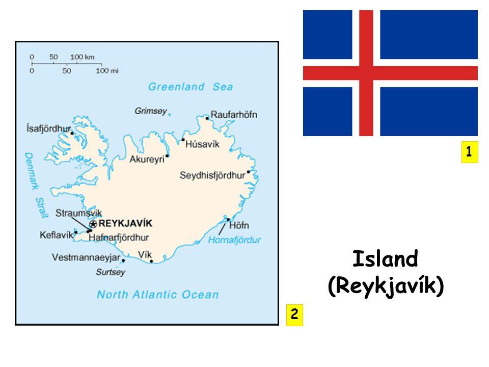 1 Island (Reykjavík) 2
