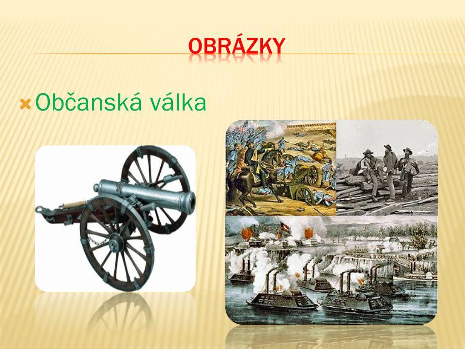 obrázky Občanská válka