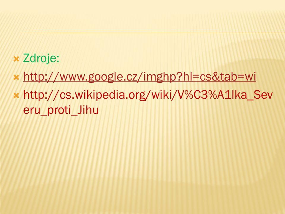 Zdroje: http://www.google.cz/imghp hl=cs&tab=wi.