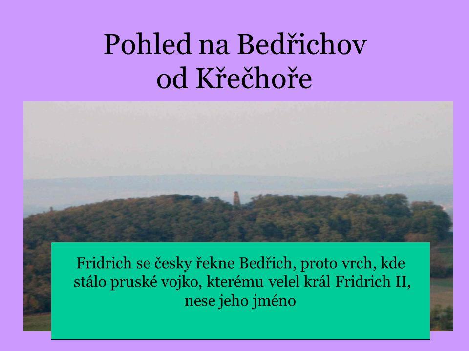 Pohled na Bedřichov od Křečhoře