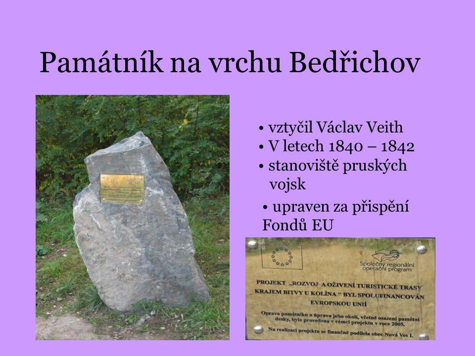 Památník na vrchu Bedřichov