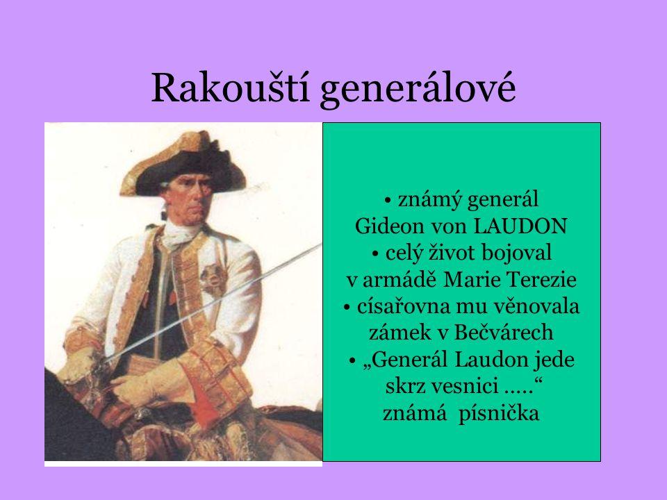 Rakouští generálové velitel rakouských vojsk maršál Leopold Daun