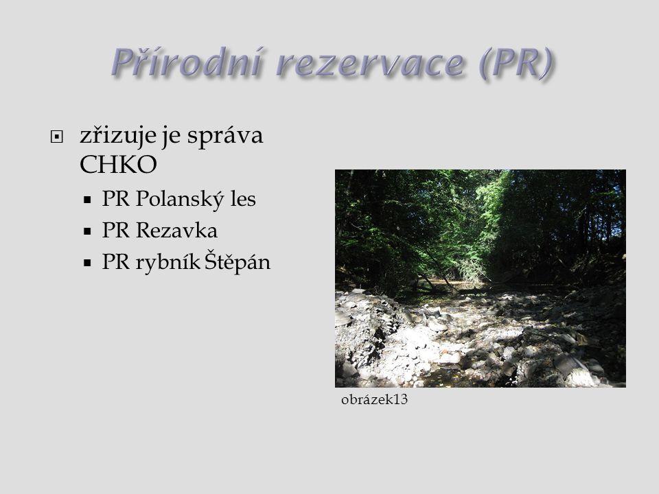 Přírodní rezervace (PR)