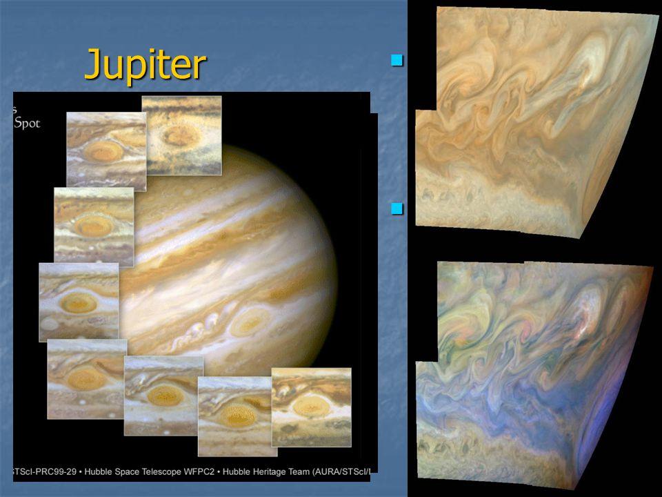 Jupiter Obří plynná planeta - největší ve Sluneční soustavě
