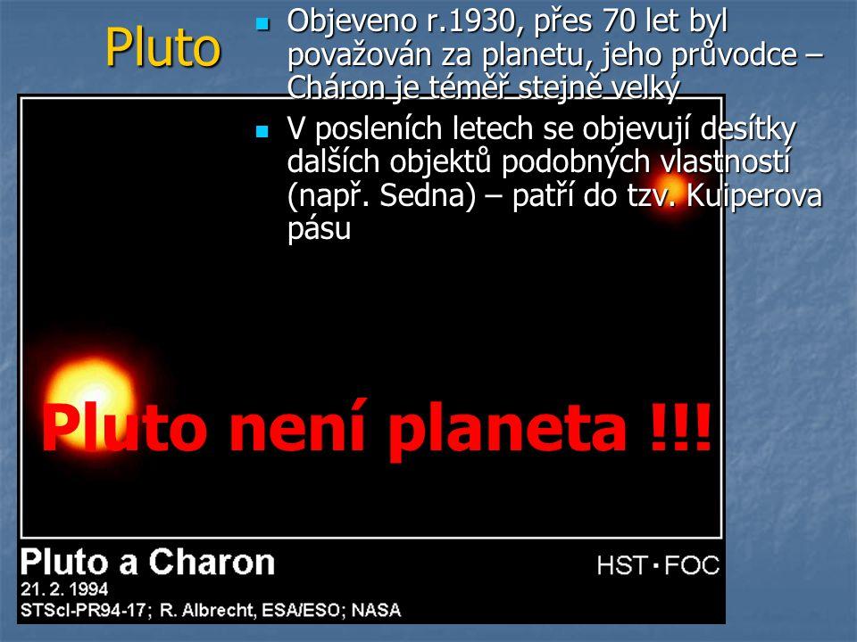 Pluto není planeta !!! Pluto